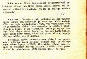 Maanaine 1940/9  Küsimusi-vastuseid